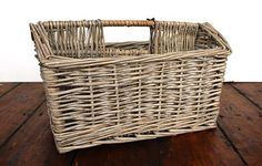 Willow magazine basket - Warings Store
