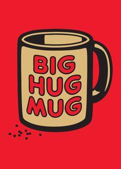 BROTHERTEDD.COM - spencerfruhling: BIG HUG MUG T-shirt for... True Detective, Big Hugs, Mugs, T Shirt, Supreme T Shirt, Tee Shirt, Tumblers, Mug, Tee