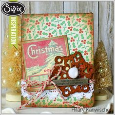 Sizzix Die Cutting Inspiration | Magic of Christmas by Hilary Kanwischer
