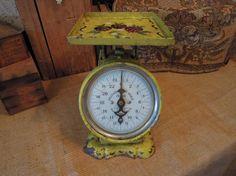 Antique Pelouze Scale / Kitchen Scale 24 by tinatreasuretrinkets