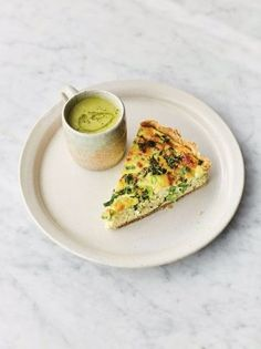 This gorgeous asparagus recipe from Jamie Oliver's new book Veg is a double win – you get asparagus soup and quiche! Make the most of beautiful asparagus while it's in season. Asparagus Quiche, Asparagus Recipe, Parmesan Asparagus, Asparagus Spears, Grilled Asparagus, Jamie Oliver Asparagus, Air Fryer Recipes, Vegetable Nutrition, Healthy Recipes
