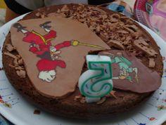 Peter Pan et le capitaine Crochet, pour faire la fête avec les copains!