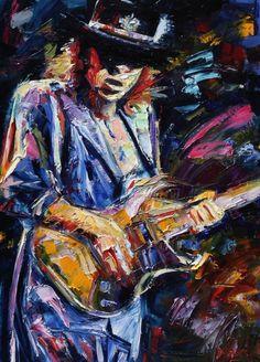 Arte y Música: Hendrix, Marley, Angus. Etc.
