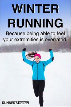 Winter running!