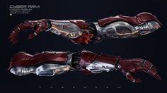 ArtStation - Cyber Arm , Vladislav Ociacia