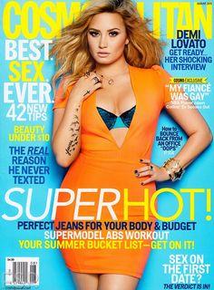 Demi Lovato - Cosmopolitan Magazine Cover [United States] (August 2013)