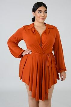 Streaks Mini Dress | GitiOnline Maxi Dress With Slit, Tie Dress, Ruffle Dress, Flare Dress, Striped Dress, Girl Outfits, Fashion Outfits, Orange Fashion, Plus Size Girls