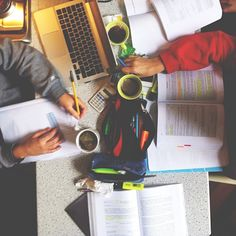 Studying with a partner or a small group can be both social and productive, so grab your best classmates and set time to prepare for finals together.