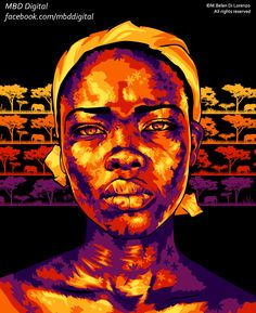African Woman by MBDDigital