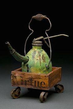 Joan Rasmussen Junkmans teapot