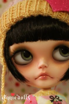 Totally in love with Anniedollz Beautiful Custom Blythes ♥ Want one in the future!    **Picture belongs to Anniedollz**