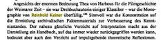 """Da hat der Autor, Hans-Edwin Friedrich, natürlich recht, aber: das archivalische Faktenmaterial zu ermitteln war schon schwierig genug, """"damals""""!  Von dem """"Handbuch"""" gibt es übrigens nur noch wenige Exemplare!"""