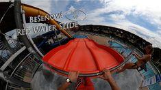Bešeňová Red Water Slide (Familyslide) 360° VR POV Onride Red Water, Water Slides, Vr