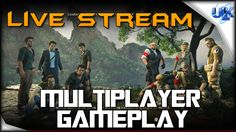 UNCHARTED 4 BETA Multiplayer Gameplay Live Stream (PS4 HD)