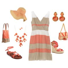 coral, created by tracie-fairman-wilkerson.polyvore.com