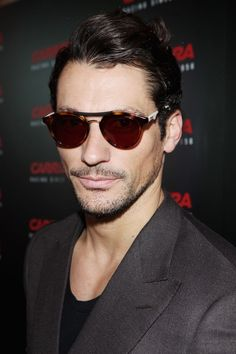 05595e5d1f British Model David Gandy Wearing Carrera 6008 Sunglasses at the Carrera  Ignition Night in London http