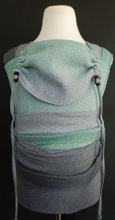 Custom Dyed Didymos Wrap converted to Mei Tai by Ocah
