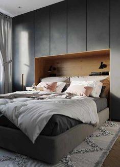 Um guarda roupa capaz de atender todas as suas necessidades e, o melhor, que cabe no seu quarto #darkBedroom