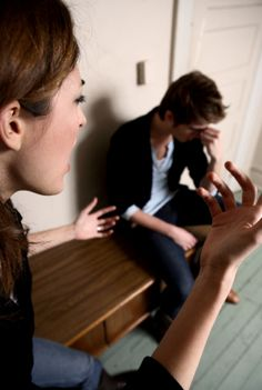 #Couple fighting : Male and Female behavior as per stage of relationship