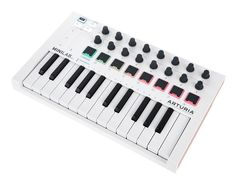 USB Controller Keyboard 25 Velocity-sensitive mini-keys, 16 Encoder - 2 of them clickable, 2 Banks of 8 velocity and pressure sensitive pads with RGB lighting (adjustable colors), Touchstrips for pitch bend and. Electric Music, V Collection, Ableton Live, Keyboard, Bass, Bluetooth, Studios, Instruments, Hardware