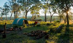 James Woodford on the inspiration for his share-economy camping website – plus his suggestions for some really amazing places to camp in Australia