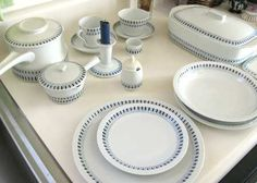 by Lyngby made in Denmark Nook, Denmark, Tablescapes, Scandinavian, Mad, Laundry, Plates, Table Decorations, Drink