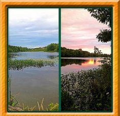 OathillLake, Dartmouth Nova Scotia, sunset summer two different views of the lake. Dartmouth Nova Scotia, Travel Scrapbook, Sunset, Nature, Pictures, Scrapbooking, Photos, Scrapbooks, Sunsets