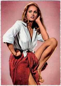 FOUR FOR TEXAS - Ursula Andress - Warner Bros. - Publicity Still.
