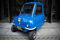 World's Smallest Car is Back, the Peel P50.