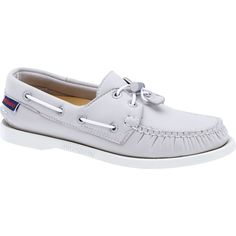 Womens Sebago Grey Ariaprene Docksides Boat Shoes B500163