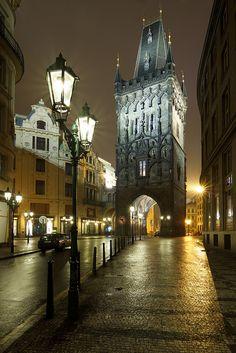 Prašná brána (Powder Tower), Old Town, Prague, Czechia