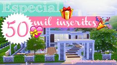 Especial 50 Mil inscritos - Peace House | The Sims 4