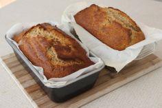 Toasted Coconut Banana Bread via Resting Dough