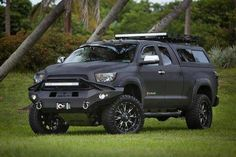 #Toyota #Tundra with full #LINEX coating. Looks Tough!