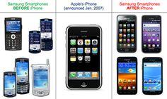 O instanta din Germania ar urma sa dea o hotarare prin care confirma faptul ca Samsung a copiat design-ul iDevice-urilor