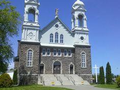 Beautiful Historic Sturgeon Falls Church Falls Church, Ontario, Canada, Christian, Mansions, House Styles, Building, Beautiful, Home Decor