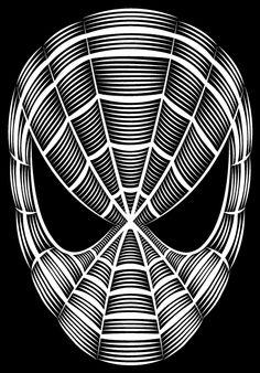 ☆ By Artist Patrick Seymour ☆ Wall Drawing, Line Drawing, Art Drawings, Patrick Seymour, Scratchboard Art, Scratch Art, Joker Art, Shirt Print Design, Stencil Patterns