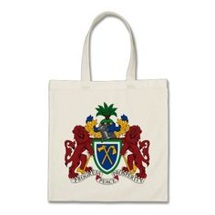 PCoat Of Arms Of Zimbabwe BAG O TRICKS THREE - Smallest country in mainland africa