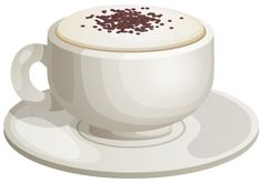 Cappuccino Cup PNG Clipart