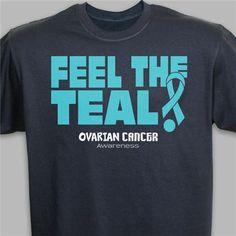 Ovarian Cancer Awareness T-Shirt