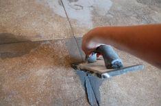 DYI DIYdiva, grout, tile, how-to, bob vila Sump Pump Installation What a Sump Pump does: A sump pump Pink Bathroom Decor, Small Bathroom Sinks, Bathroom Ideas, Bathroom Rugs, Bathrooms, How To Apply Grout, Floor Tile Grout, Grouting Tile, Tiles