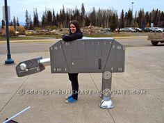 star wars walker costume   Creative Star Wars AT-AT Walker Costume