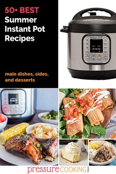 ☀️ Keep your house cool this summer and cook with your Instant Pot! Find a new favorite with one of these FIFTY Instant Pot Summer Recipe ideas for main dishes, side dishes, and desserts. Creamy Jalapeno Sauce, Waffle Bowl, Avocado Spread, Pressure Cooking Today, Summer Side Dishes, Sweet Tarts, Summer Recipes, Recipe Ideas, Instant Pot