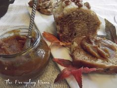 Homemade Crockpot Pumpkin Butter. - The Everyday Home: makes a great gift to send home with guests after Thanksgiving dinner