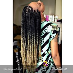 @Ombretwist.....I think this is my next protective style look. loving the color :)