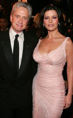 Pretty in Pink from Catherine Zeta-Jones & Michael Douglas: Romance Rewind | E! Online