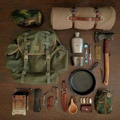 Bushcraft Camping, Bushcraft Kit, Bushcraft Backpack, Bushcraft Skills, Camping Survival, Outdoor Survival, Survival Gear, Camping Hacks, Outdoor Camping