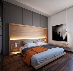 Want to build lighting into our headboard