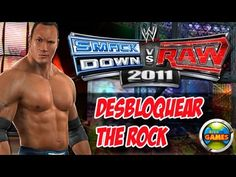 Desbloquear The Rock WWE Smackdown vs. Raw 2011- PS2