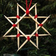 DIY Ornaments Toothpicks